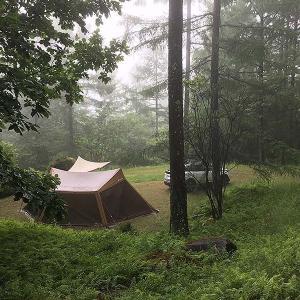 キャンプレポ。立原高原キャンプ場へ行って来ました。