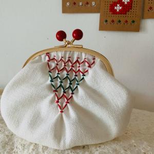 クリスマスの刺繍ワークショップ