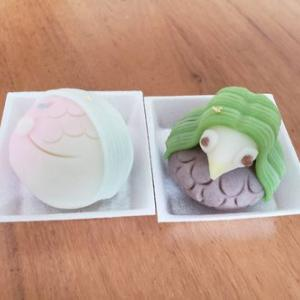 【お菓子】アマビエ