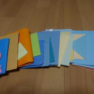 手作りカードの片付け⑧