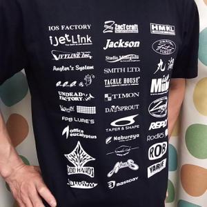 エリアメーカーのロゴTシャツ