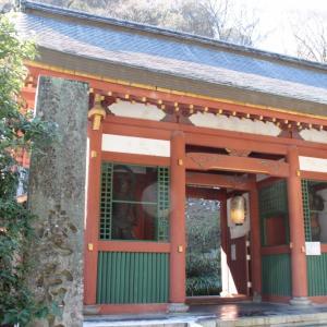 嵯峨野愛宕神社の冬景色