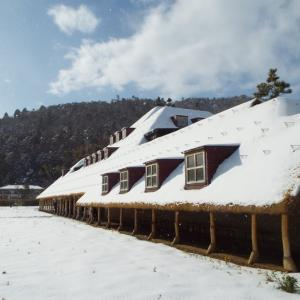 近江八幡の雪景色