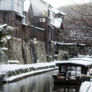 近江八幡堀の景色