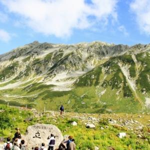初秋の立山