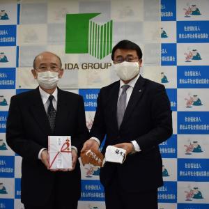 新型コロナウイルス対策のための地域貢献を行いました