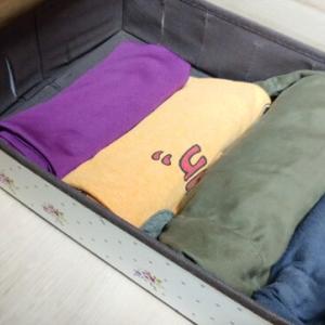 衣類の整理 作業用コーナーを新設