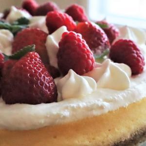 娘の手作りケーキ