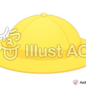 イラスト素材「新一年生の黄色い帽子」×2イラスト