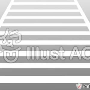 イラスト素材「横断歩道」