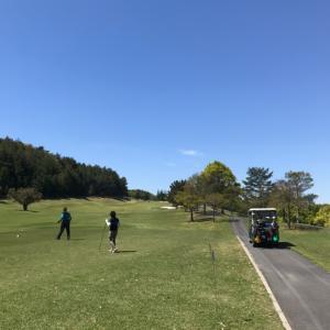【ゴルフ】快晴の万寿GC