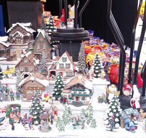例年通りクリスマスマーケット