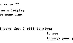 ピレモンへの手紙22節