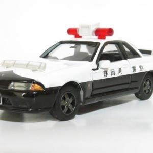 トミカリミテッド スカイラインGT-R R32 静岡県警高速パト