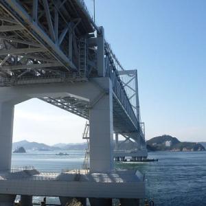 大鳴門橋を見上げる 【お気楽写真館55】