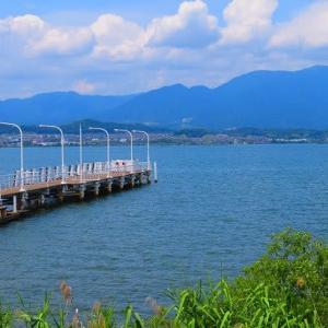 久しぶりの琵琶湖と近江ちゃんぽん