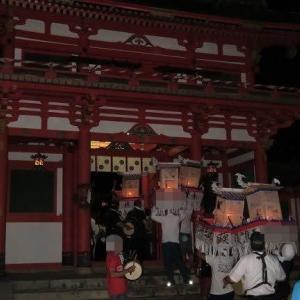 灯籠祭の夜 【お気楽写真館174】
