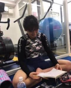 低酸素トレーニングでリミッターを外す蓑田真璃選手
