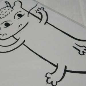 秋田県大館市  にゃごにゃごにゃーご  【全力♥️絵届きました】守護龍