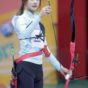 【画像】韓国のアーチェリー選手、美人すぎる