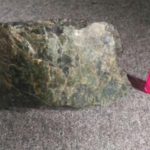 分杭峠のゼロ磁場鉱石