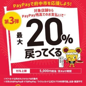 【3月】府中市paypay払いがおすすめ