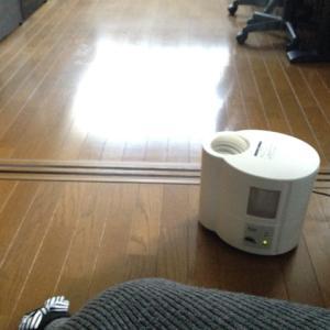 金沢初雪と、新しいストーブ