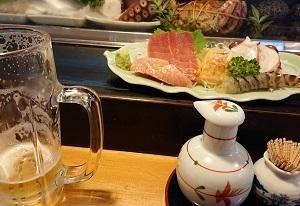 寿司屋でミーティング〜★★