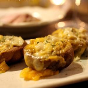 チン!で簡単おつまみ♪ しいたけのチーズ焼き