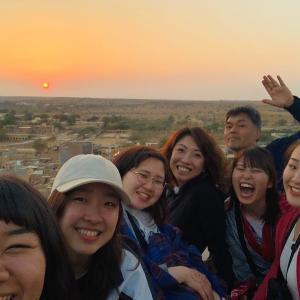 【タビイク】50歳の父と5人の女子大生のインド旅-後編-