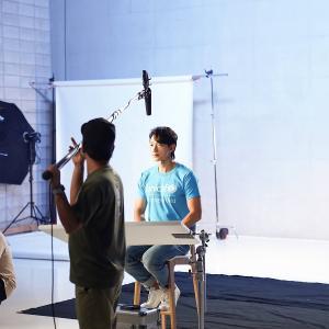RAIN(ピ)ユニセフのTV募金キャンペーン撮影現場ビハインド