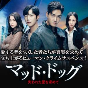 韓国ドラマ「マッド・ドッグ〜失われた愛を求めて〜」を視聴しました~~