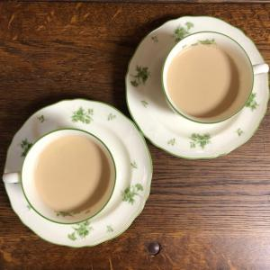 オーガニック茶葉でロイヤルミルクティー