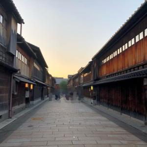 ひがし茶屋街で甘味、金沢駅周辺で晩ご飯。