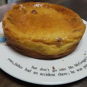 【台所通信】かぼちゃのおやき。72度分割のチーズケーキ。そして犬筋トレ?