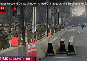 第三次世界大戦に備えるアメリカ!アメリカ国会議事堂に軍が結集!何を意味するの?