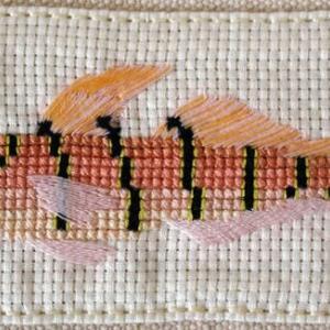 キヌバリ・チャガラの刺繍:とーとバッグ作品Ⅱ