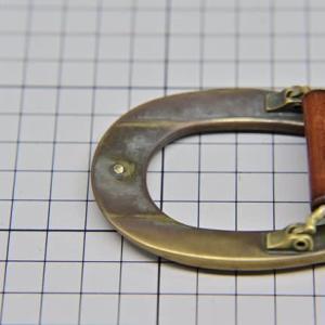 ラルフローレン ベルト バックルギボシ修理