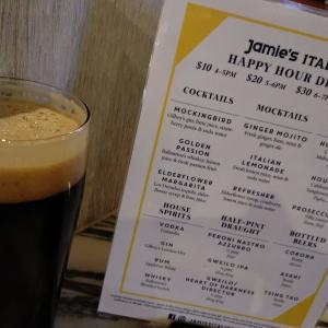 香港でBAR:とてもお世話になりましたJamie's ITALIAN。Happy hour好きには残念すぎる閉店劇でございました。