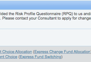 香港で投資:香港でファンド購入済の皆さま、オンラインでアロケーションチェンジやスイッチングが出来る状態になっていますか? IFAにRPQを提出するのですぞ!