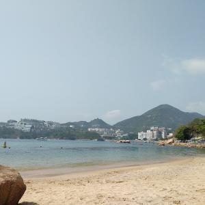 香港散策:赤柱(スタンレー)のもう1つのビーチ、ステファンビーチ(聖士提反灣、St. Stephen's Beach)