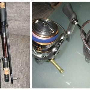釣りから帰った休日の午後(さぁ~て、釣り物チェンジしますか!?)