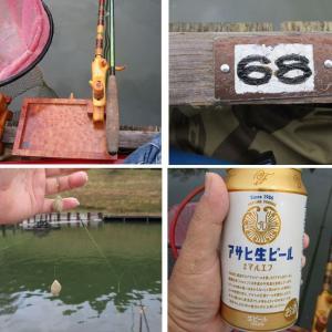 最高の釣り座をGETしたのに~ in 甲南ヘラの池