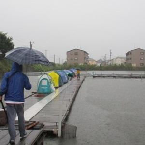 雨の中、有志で行ってきました in 佐屋川西の森