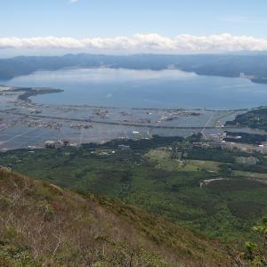 櫛ヶ峰、磐梯山、猫魔ヶ岳(その2)