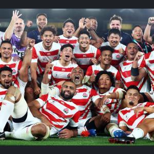 ラグビーワールドカップ準々決勝