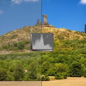 画像の露出を調整するために曲線を使用する方法