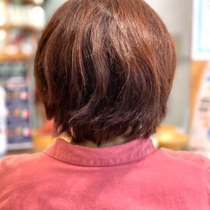 ショートスタイルの縮毛矯正で気をつけていること。