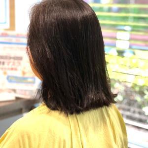 艶髪コーナー。半年は早いものです。