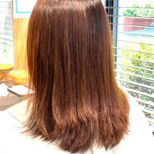 電子トリートメントとクリニックカットで伸ばしかけの髪の引っかかりをリセット♫